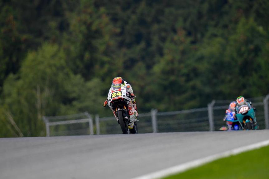 Tatsuki Suzuki, Sic58 Squadra Corse, Bitci Motorrad Grand Prix von Österreich
