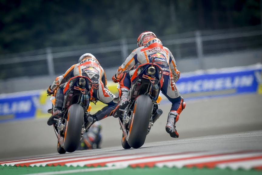 Marc Marquez, Pol Espargaro, Repsol Honda Team, Bitci Motorrad Grand Prix von Österreich