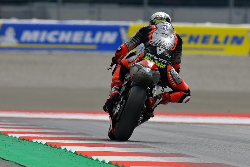 Lorenzo Baldassarri, MV Agusta Forward Racing, Bitci Motorrad Grand Prix von Österreich