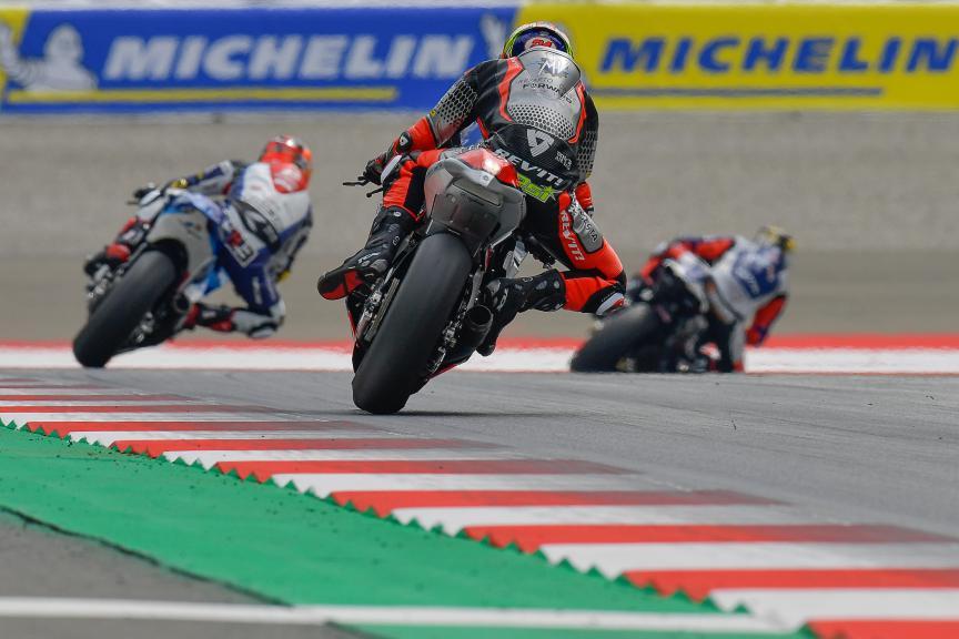 Simone Corsi, MV Agusta Forward Racing, Bitci Motorrad Grand Prix von Österreich