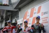 Bagnaia, Martin, Quartararo, Bitci Motorrad Grand Prix von Österreich