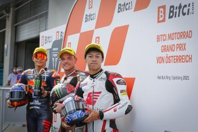 Moto2™: Lowes überrascht mit der Pole-Position in Österreich