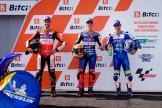 Fermin Aldeguer, Matteo Ferrari, Lukas Tulovic, Bitci Motorrad Grand Prix von Österreich