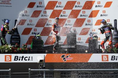 MotoE™ - GP d'Autriche : Ils ont brillé en course