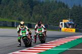 Miquel Pons, Kevin Zannoni, LCR E-Team, Bitci Motorrad Grand Prix von Österreich
