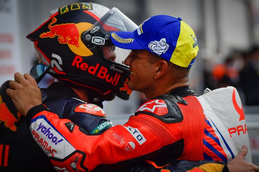 Brad Binder, Jorge Martin, Bitci Motorrad Grand Prix von Österreich