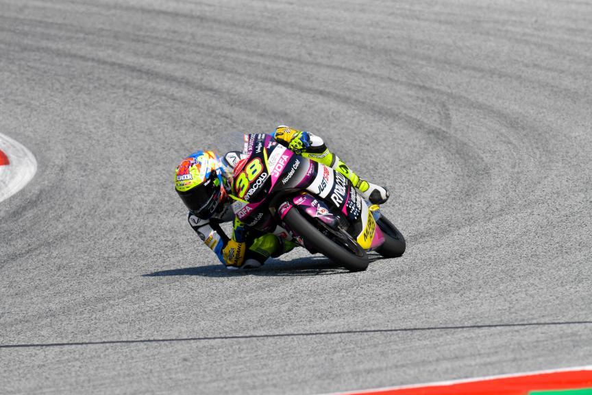 David Salvador, Rivacold Snipers Team, Bitci Motorrad Grand Prix von Österreich