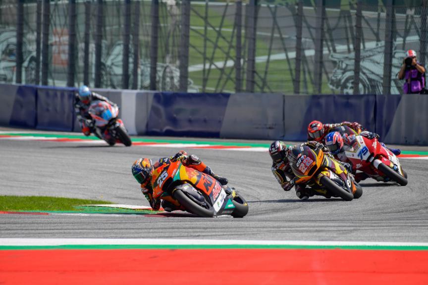 Raul Fernandez, Sam Lowes, Bitci Motorrad Grand Prix von Österreich