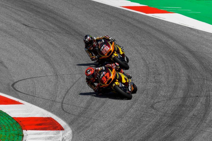 Sam Lowes, Augusto Fernandez, Elf Marc Vids Racing Team, Bitci Motorrad Grand Prix von Österreich