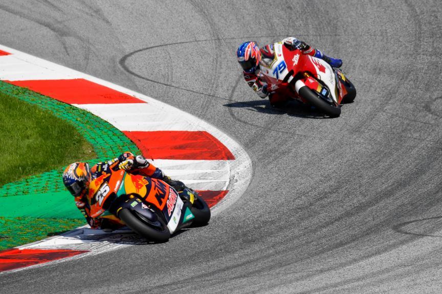 Raul Fernandez, Ai Ogura, Bitci Motorrad Grand Prix von Österreich