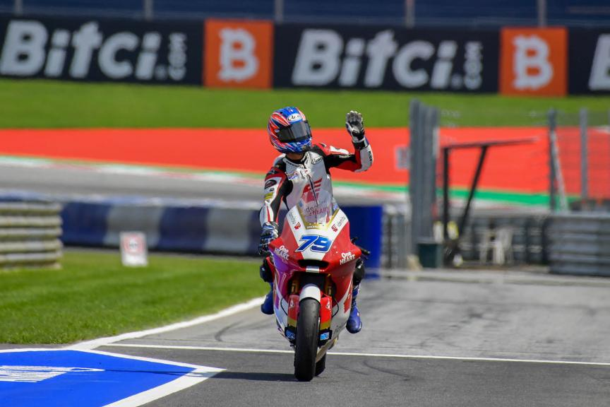 Ai Ogura, Idemitsu Honda Team Asia, Bitci Motorrad Grand Prix von Österreich