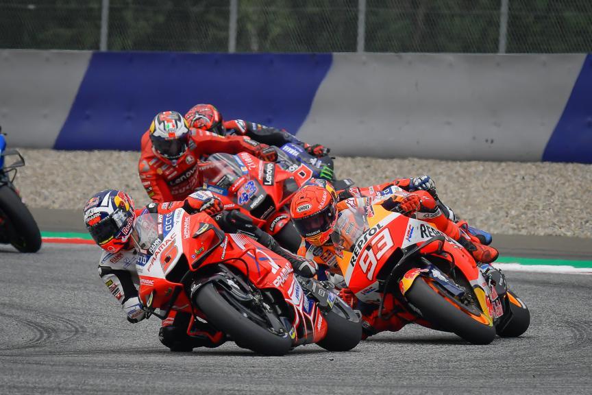 Johann Zarco, Marc Marquez, Bitci Motorrad Grand Prix von Österreich