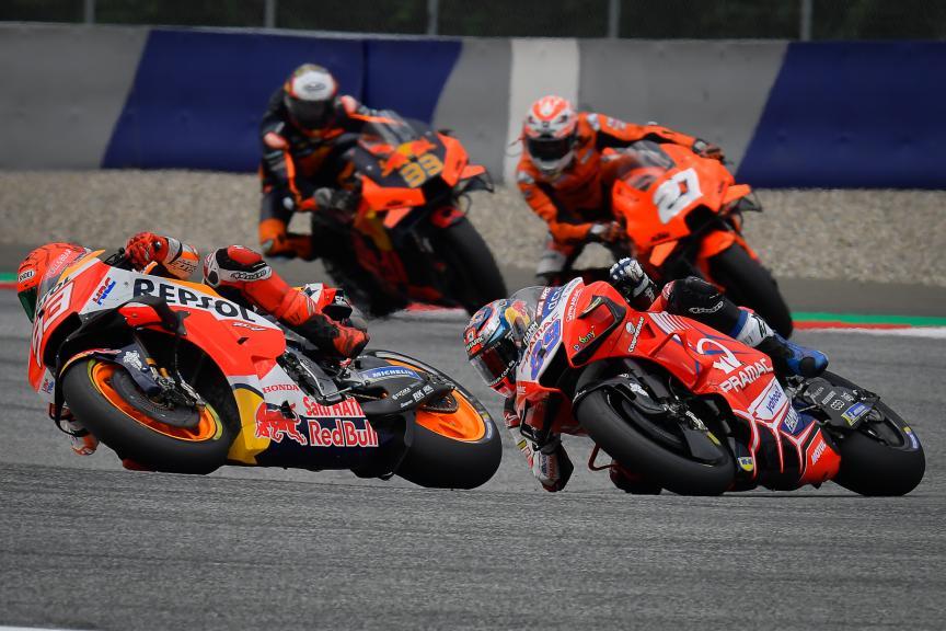 Marc Marquez, Jorge Martin, Bitci Motorrad Grand Prix von Österreich