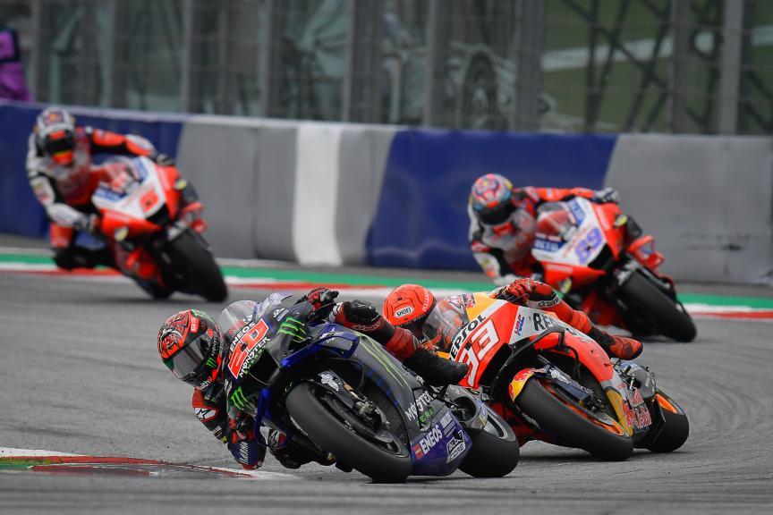 Fabio Quartararo, Marc Marquez, Bitci Motorrad Grand Prix von Österreich