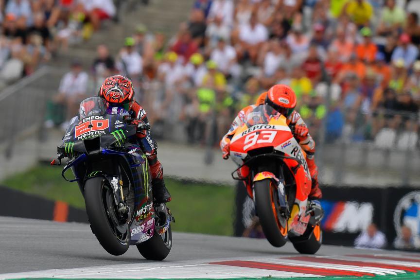 Fabio Quartararo, Monster Energy Yamaha MotoGP, Bitci Motorrad Grand Prix von Österreich