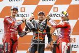 Bagnaia, Binder, Martin, Bitci Motorrad Grand Prix von Österreich