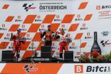 Brad Binder, Francesco Bagnaia, Jorge Martin, Bitci Motorrad Grand Prix von Österreich