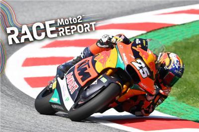 GP d'Autriche - Moto2™ : R.Fernández au-dessus du lot