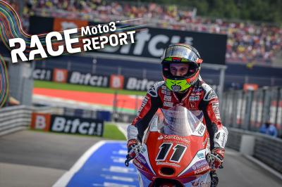 Moto3™ : Garcia tient sa revanche au Red Bull Ring !