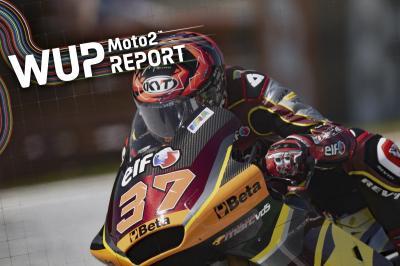Augusto Fernandez führt Rookie-Duo im Moto2™ Warm-Up an
