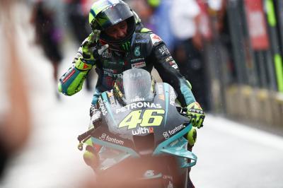 Rossi passé tout près d'un 200e podium !