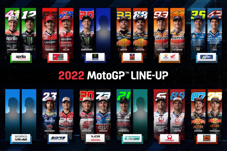 Line UP_MotoGP 2022_Viñales Version_2021