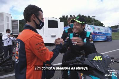 Lo que sucede de verdad: El regreso de un MotoGP™ Legend