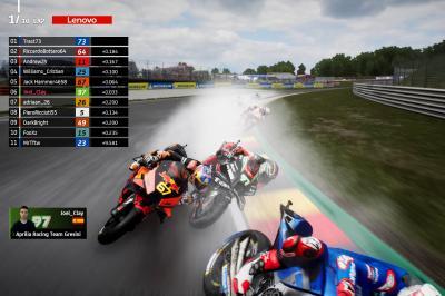 El Campeonato de MotoGP™ eSport al rojo vivo
