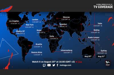 MotoGP™ eSport: Cómo ver el Round 2 de las Global Series