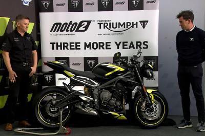 Triumph und Dorna Sports verlängern ihre Partnerschaft