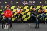 Press-Conference, Monster Energy British Grand Prix