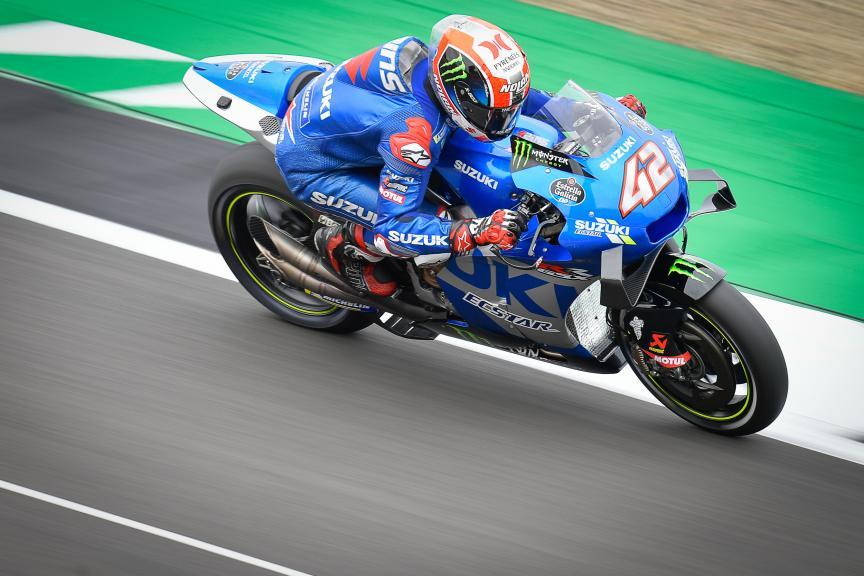 Alex Rins, Team Suzuki Ecstar, Monster Energy British Grand Prix