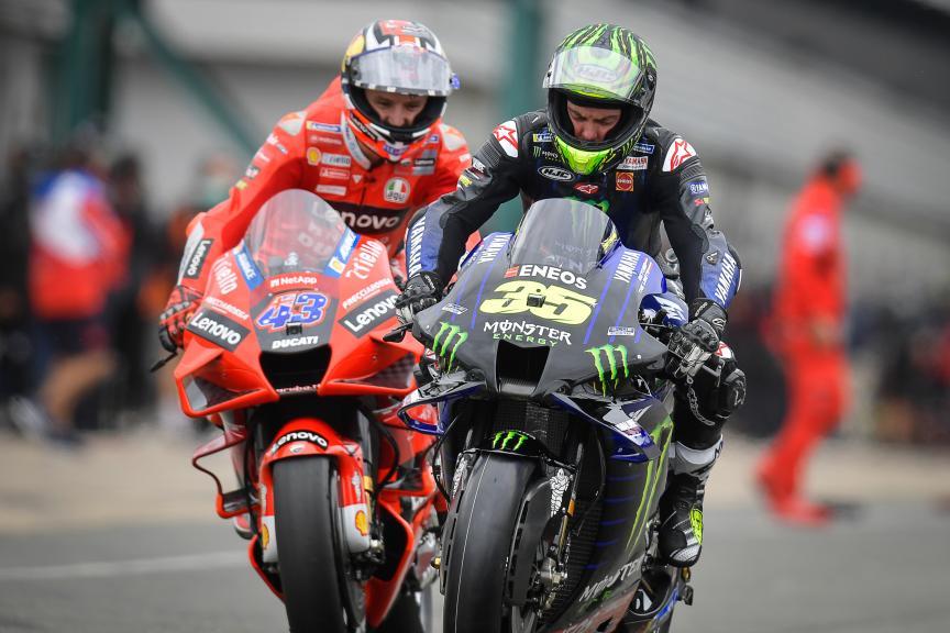 Cal Crutchlow, Jack Miller, Monster Energy British Grand Prix