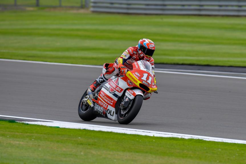 Nicolo Bulega, Federal Oil Gresini Moto2, Monster Energy British Grand Prix