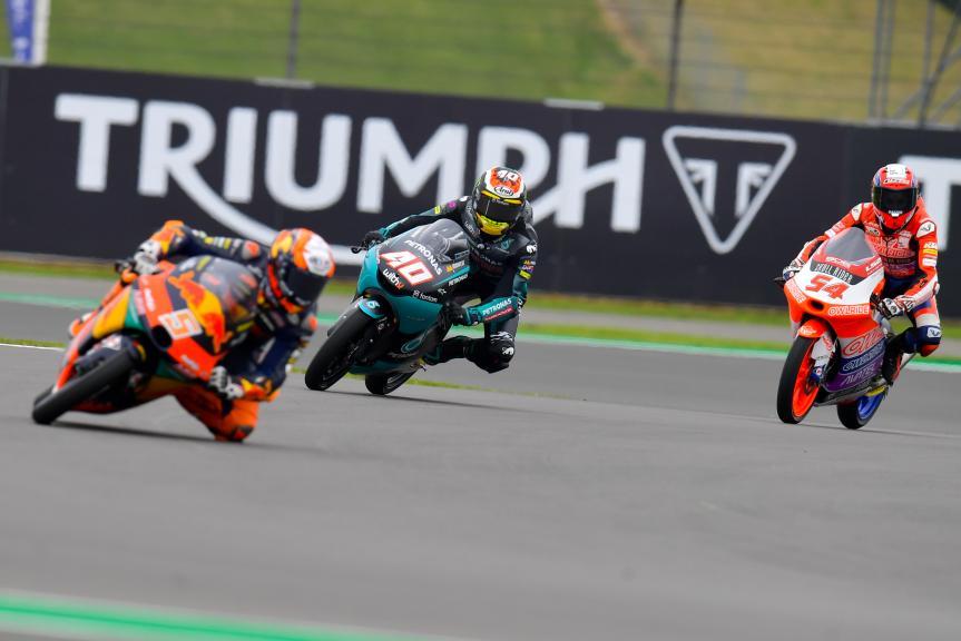 Darryn Binder, Riccardo Rossi, Monster Energy British Grand Prix