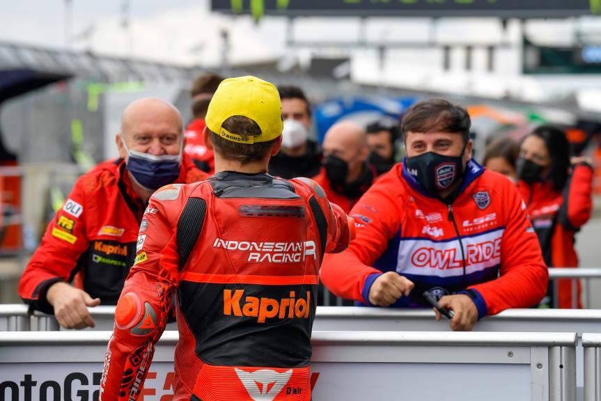 Gabriel Rodrigo, Indonesian Gresini Racing Moto3, Monster Energy British Grand Prix