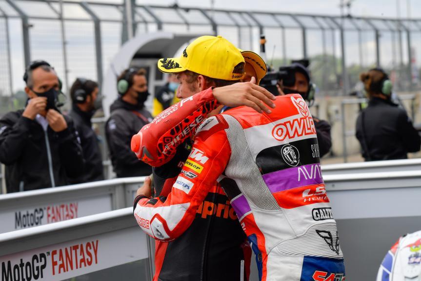 Gabriel Rodrigo, Riccardo Rossi, Monster Energy British Grand Prix