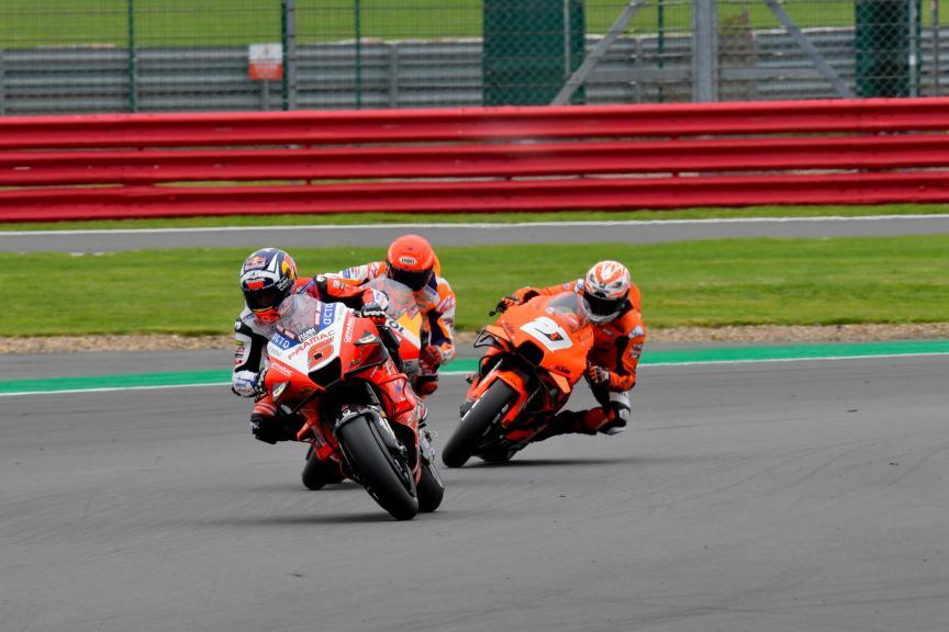Johann Zarco, Marc Marquez, Iker Lecuona, Monster Energy British Grand Prix