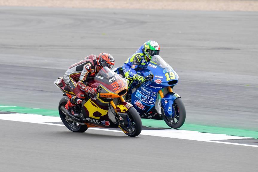 Lorenzo Dalla Porta, Augusto Fernandez, Monster Energy British Grand Prix