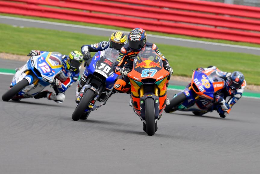 Remy Gardner, Barry Baltus, Monster Energy British Grand Prix