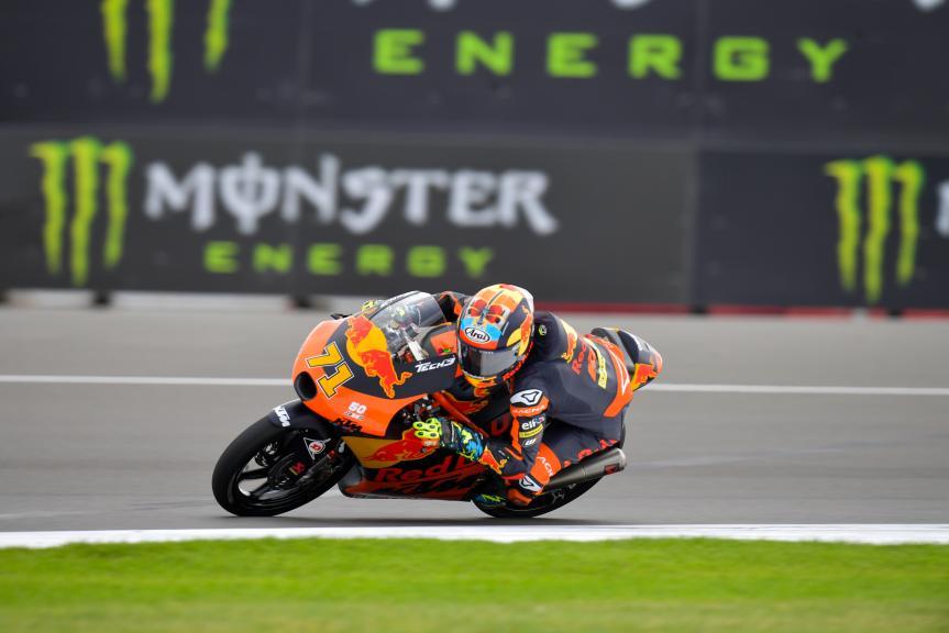 Ayumu Sasaki, Red Bull KTM Tech 3, Monster Energy British Grand Prix