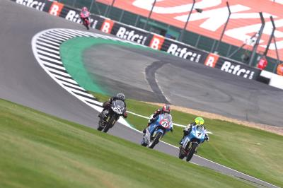 British Talent Cup Race 1 at Silverstone