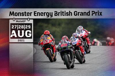 Horarios del GP de Gran Bretaña: Atención al domingo