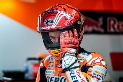 ¿Cómo está Marc Márquez tras su caída en la FP1 a 270 km/h?