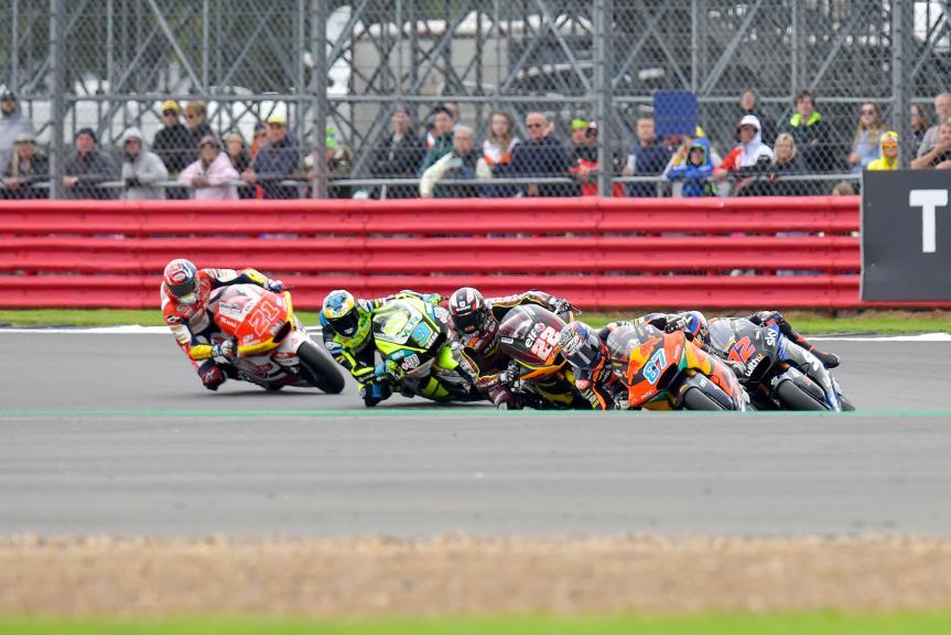 Moto2, Race, Monster Energy British Grand Prix