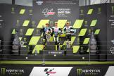 Romano Fenati, Niccolo Antonelli, Dennis Foggia, Monster Energy British Grand Prix