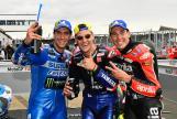 Fabio Quartararo, Alex Rins, Aleix Espargaro, Monster Energy British Grand Prix