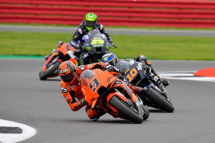 Danilo Petrucci, Luca Marini, Monster Energy British Grand Prix