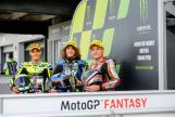 Jorge Navarro, Sam Lowes, Marco Bezzecchi, Monster Energy British Grand Prix