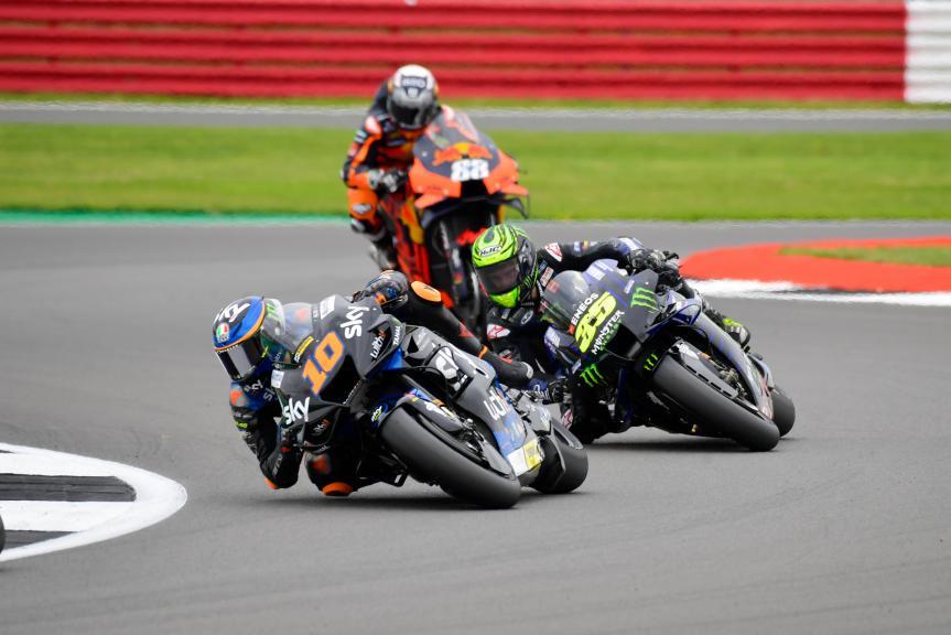 Luca Marini, Cal Crutchlow, Monster Energy British Grand Prix